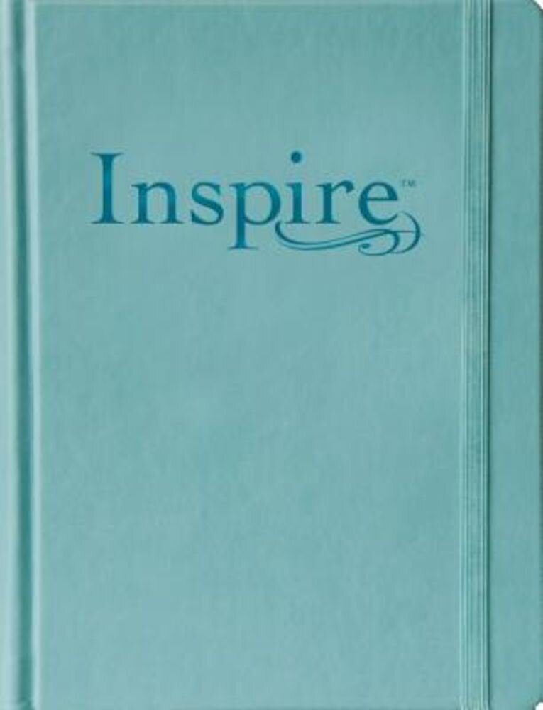 Inspire Bible-NLT: The Bible for Creative Journaling, Hardcover