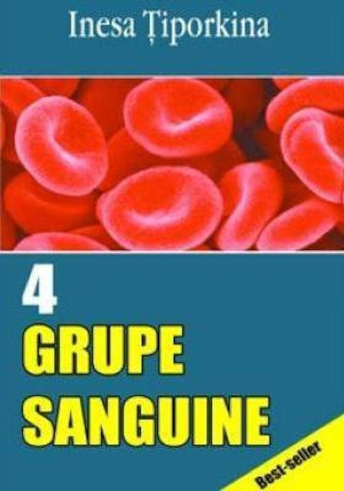 Coperta Carte 4 grupe sanguine