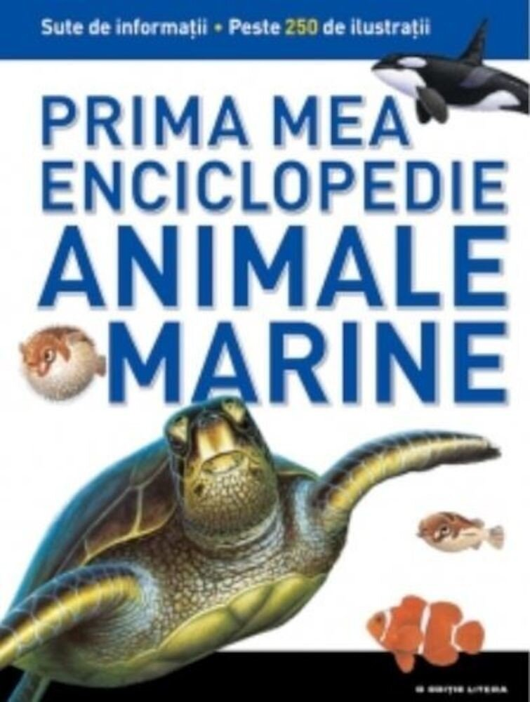 Animale marine. Prima mea enciclopedie. Vol.4