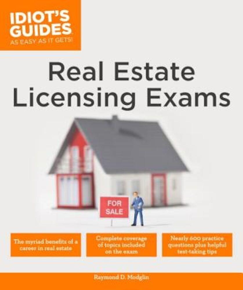 Real Estate Licensing Exams, Paperback