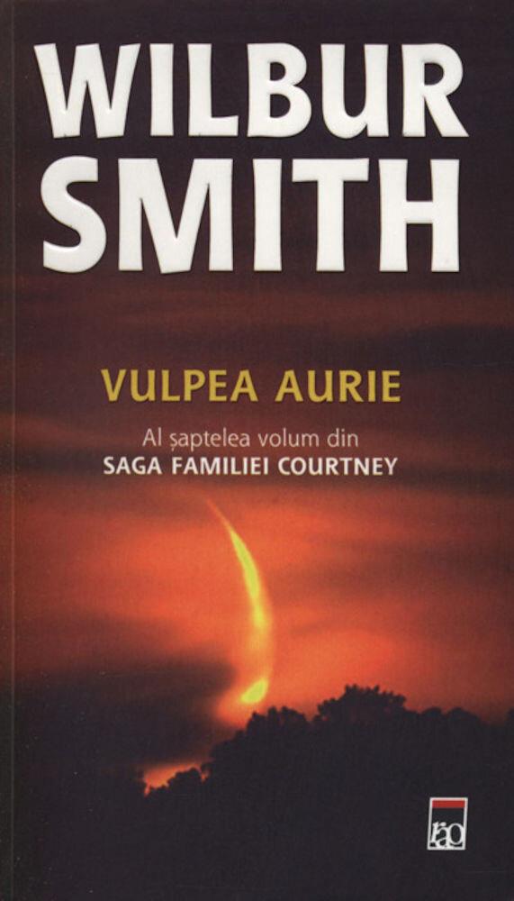 Coperta Carte Vulpea aurie, Saga familiei Courtney, Vol. 7