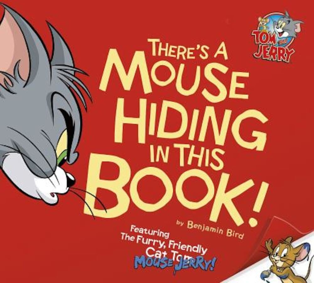 There's a Mouse Hiding in This Book!, Hardcover