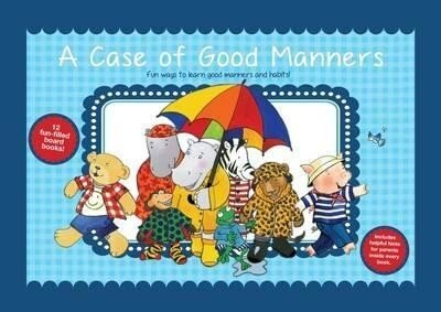 A Case Of Good Manners 12 Mini Board Books Gift Set Collection