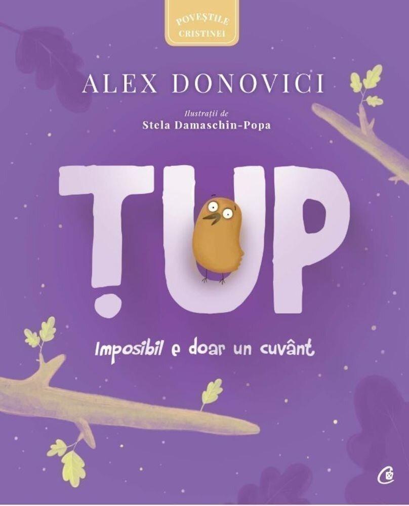 Coperta Carte Tup-Imposibil e doar un cuvant