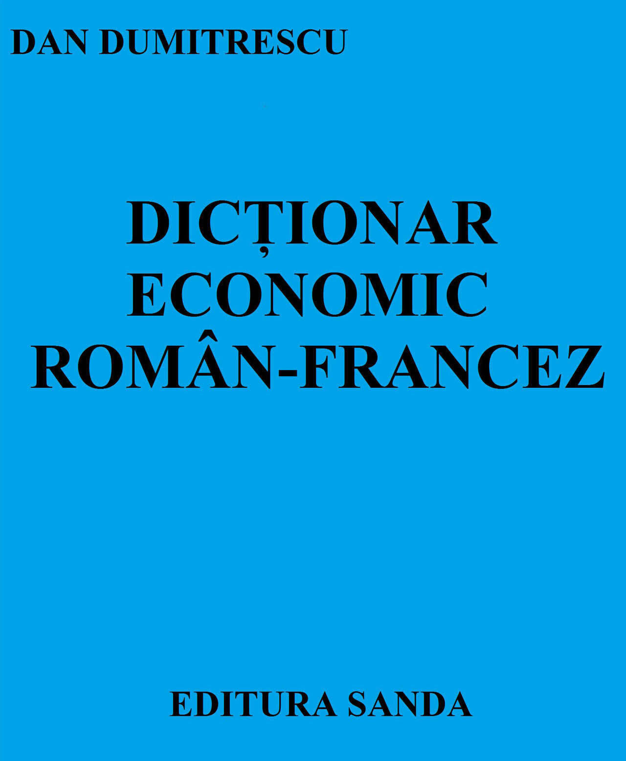 Dictionar economic Roman-Francez (eBook)