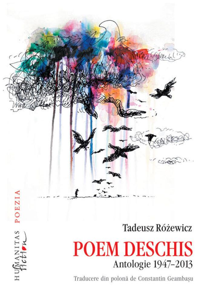 Coperta Carte Poem deschis. Antologie 1947-2013