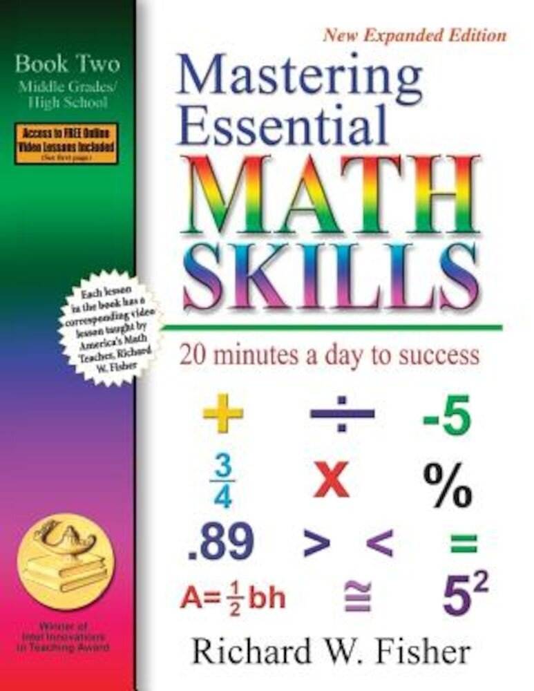Mastering Essential Math Skills: 20 Minutes a Day to Success; Book Two, Middle Grades/High School, Paperback
