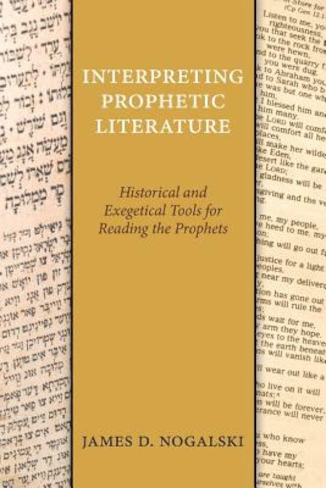 Interpreting Prophetic Literature, Paperback