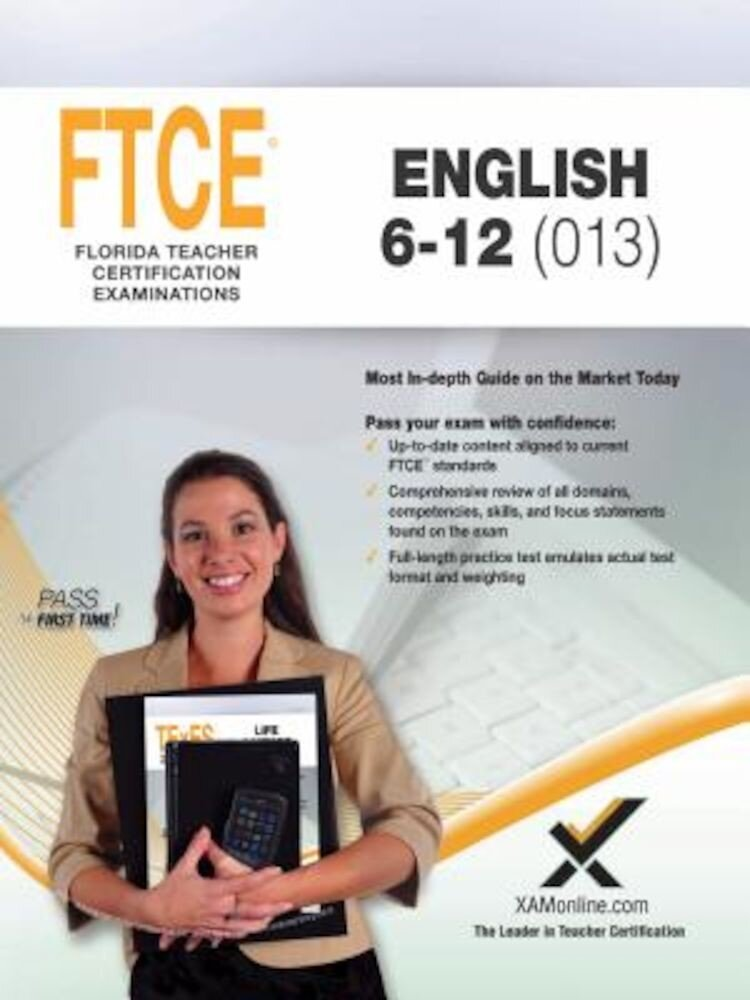 2017 FTCE English 6-12, Paperback