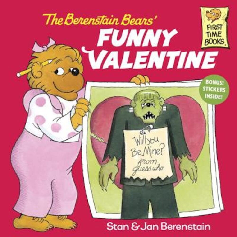 The Berenstain Bears' Funny Valentine, Paperback