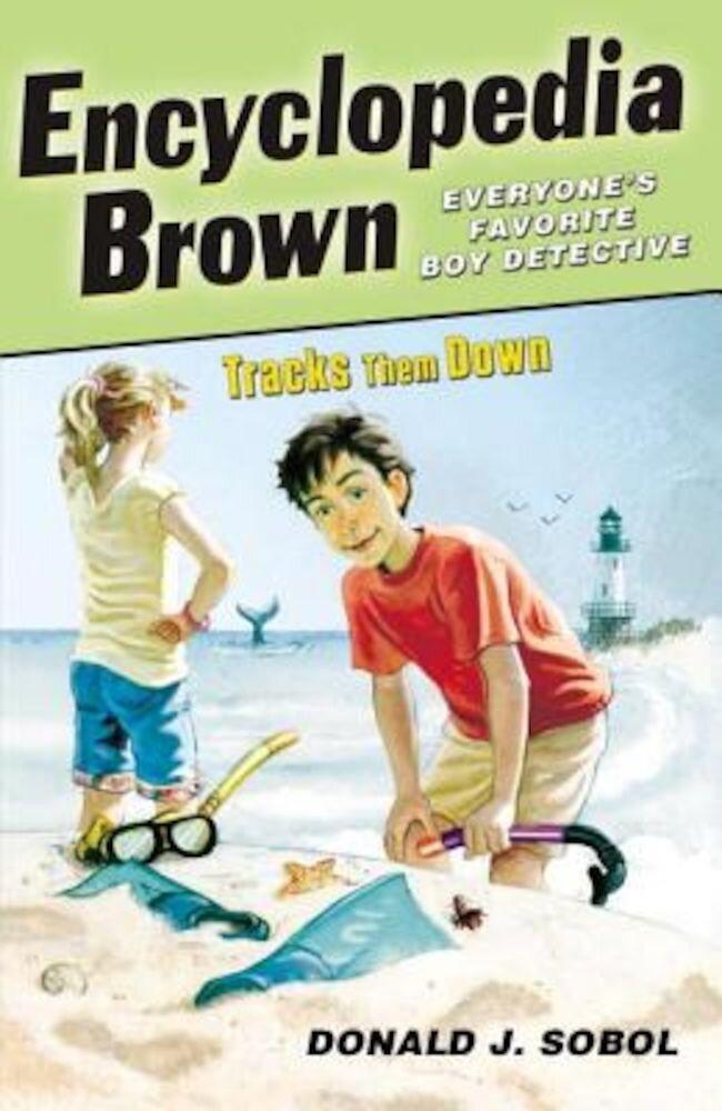Encyclopedia Brown Tracks Them Down, Paperback