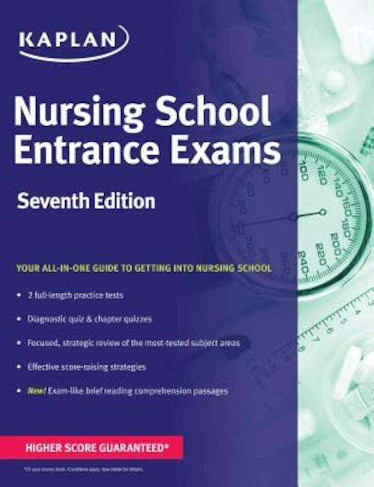 Nursing School Entrance Exams, Paperback