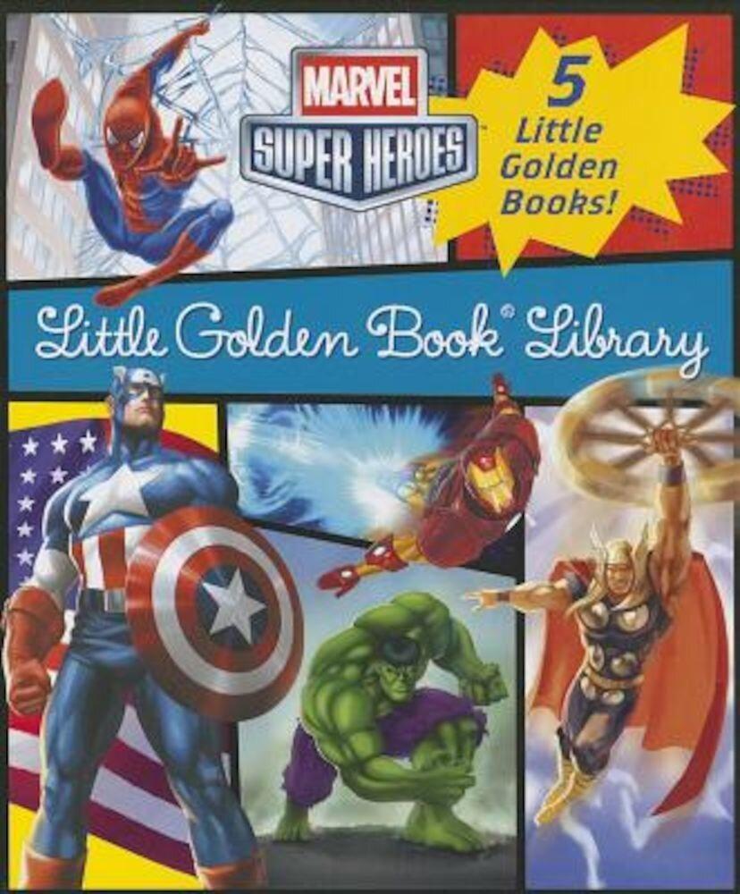 Marvel Little Golden Book Library, Hardcover