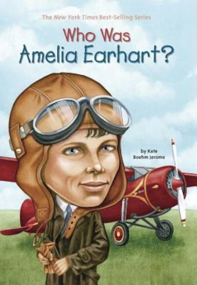 Who Was Amelia Earhart?, Paperback