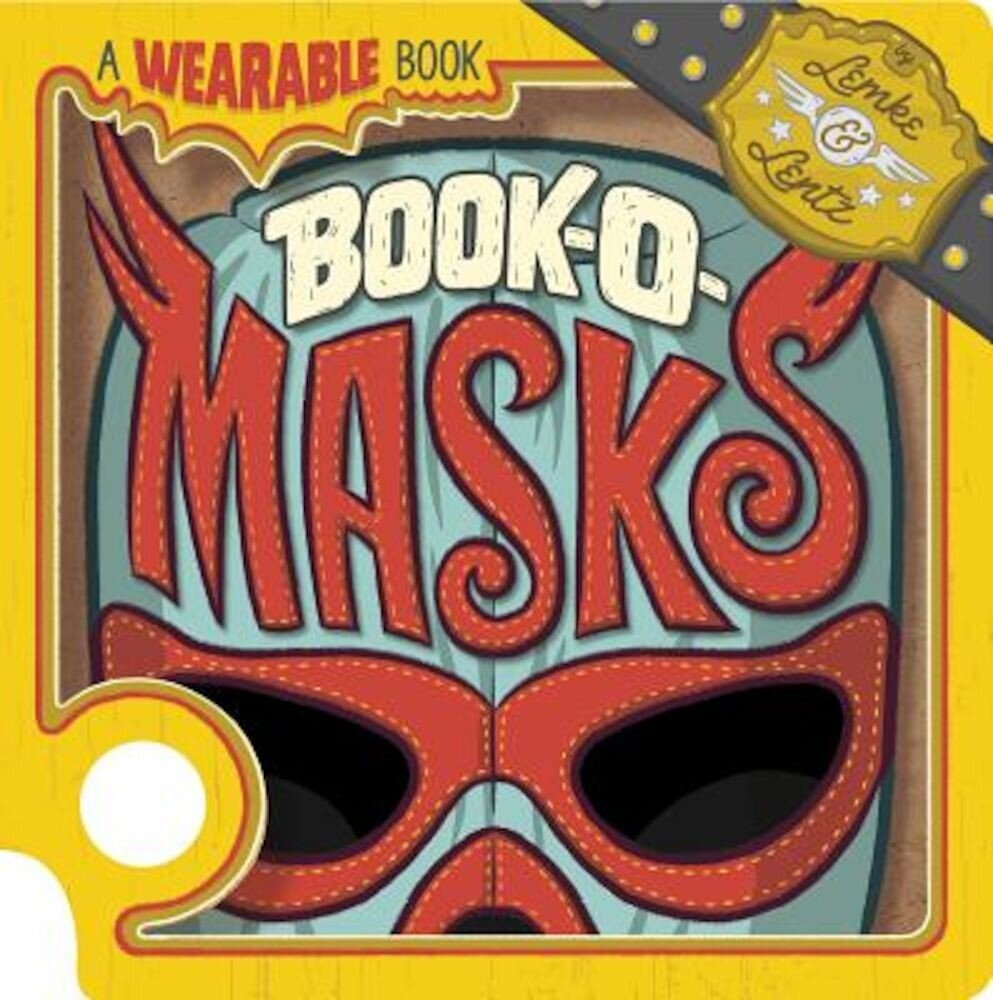 Book-O-Masks: A Wearable Book, Hardcover