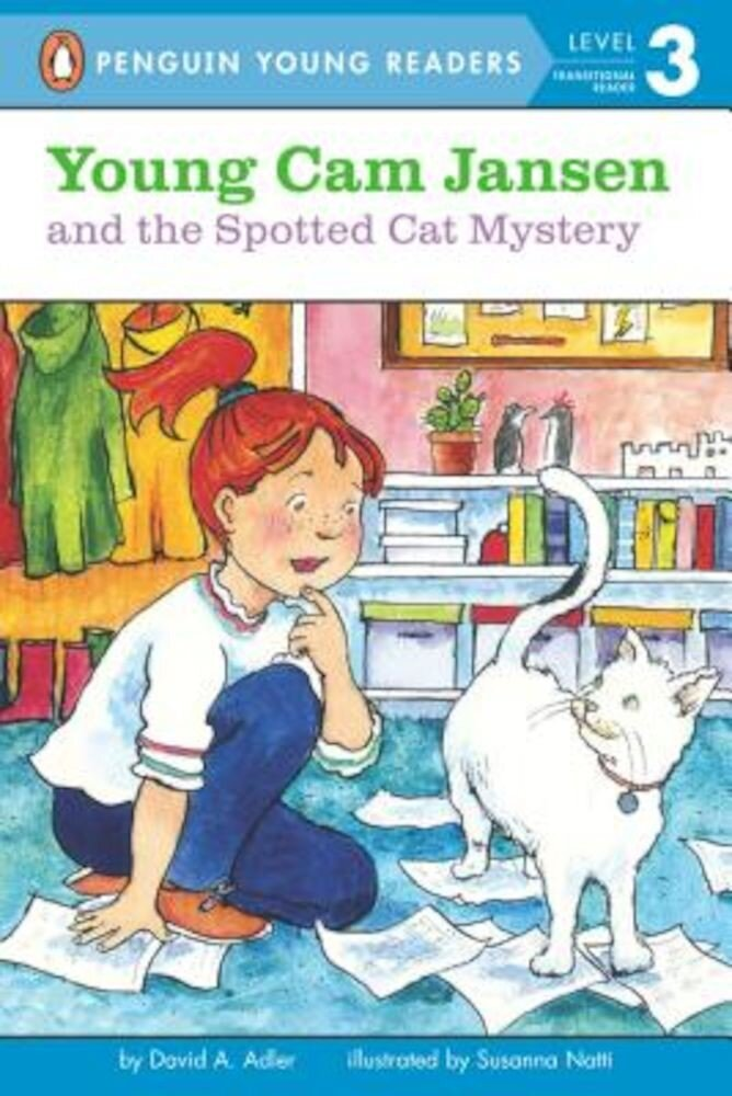 Young Cam Jansen and the Spotted Cat Mystery, Paperback