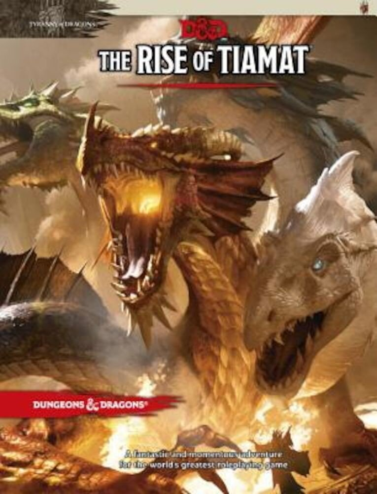 The Rise of Tiamat, Hardcover