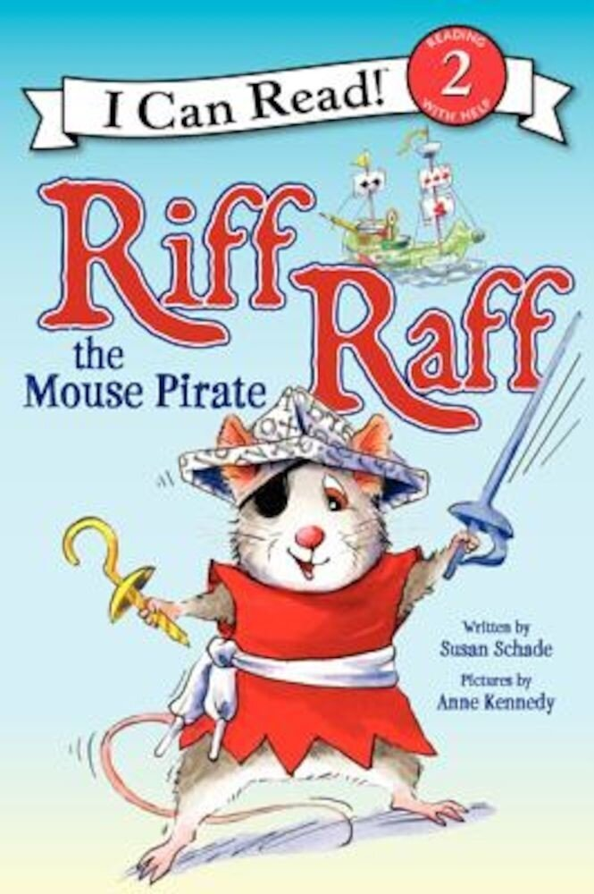 Riff Raff the Mouse Pirate, Paperback