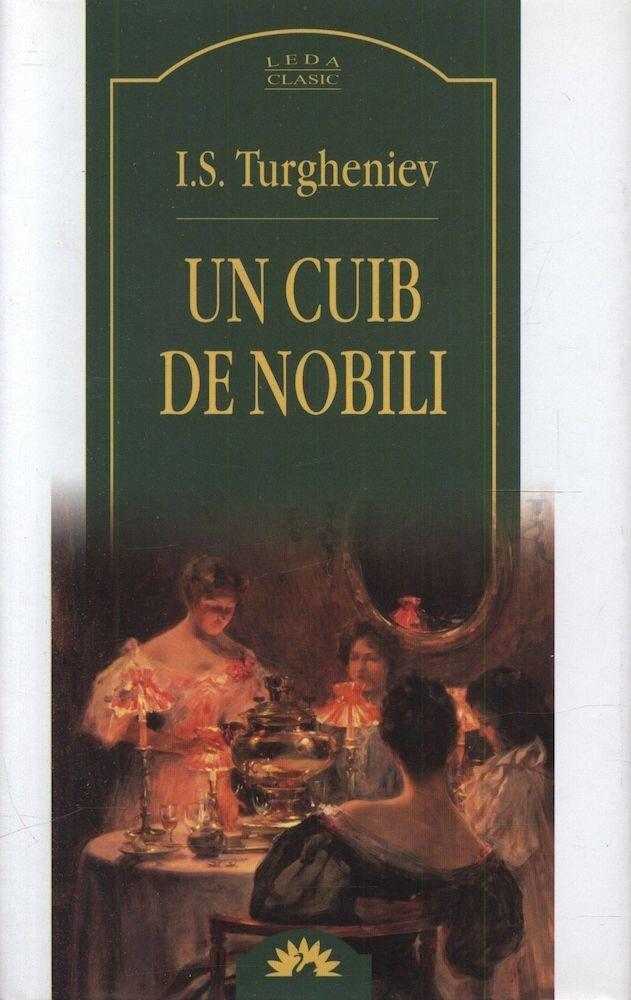 Coperta Carte Un cuib de nobili
