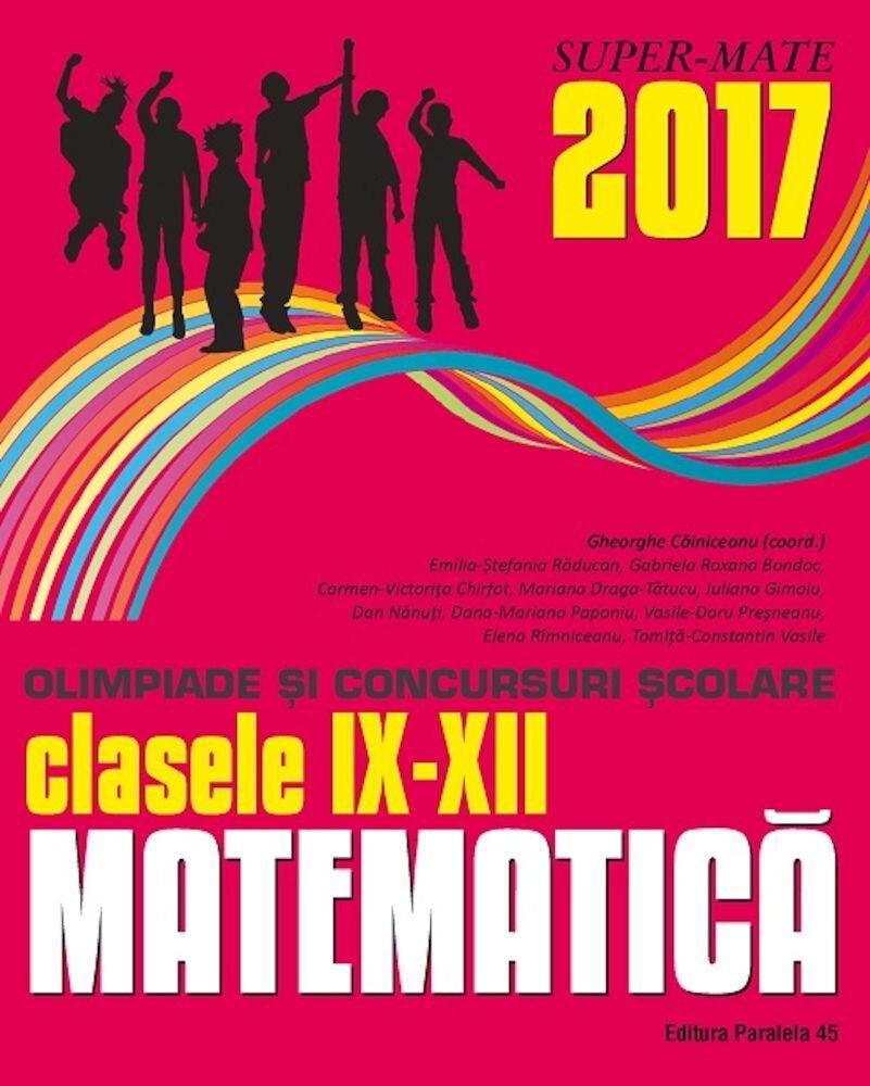 Matem. in conc. Scolare IX-XII/2017