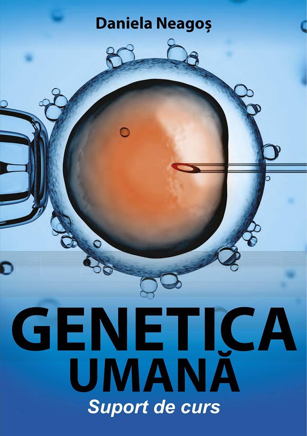 Genetica umana. Suport de curs (eBook)
