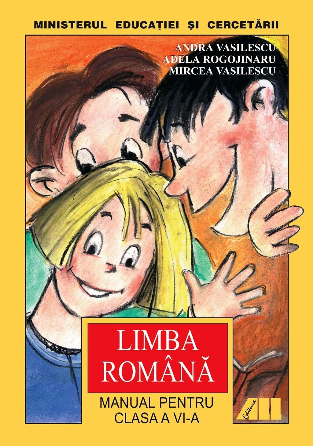 Limba romana. Manual pentru clasa a VI-a (eBook)