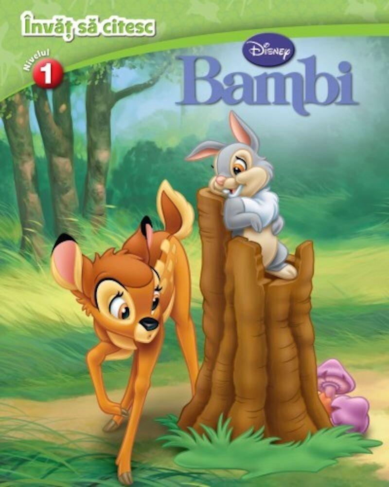 Invat sa citesc. Nivelul 1. Bambi