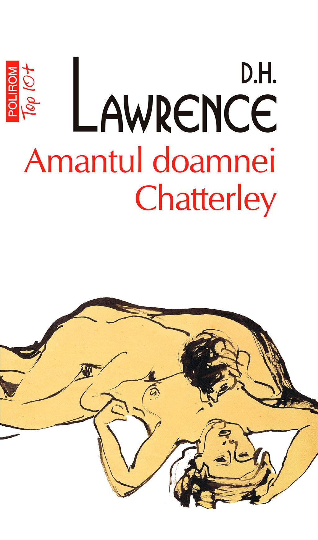 Coperta Carte Amantul doamnei Chatterley