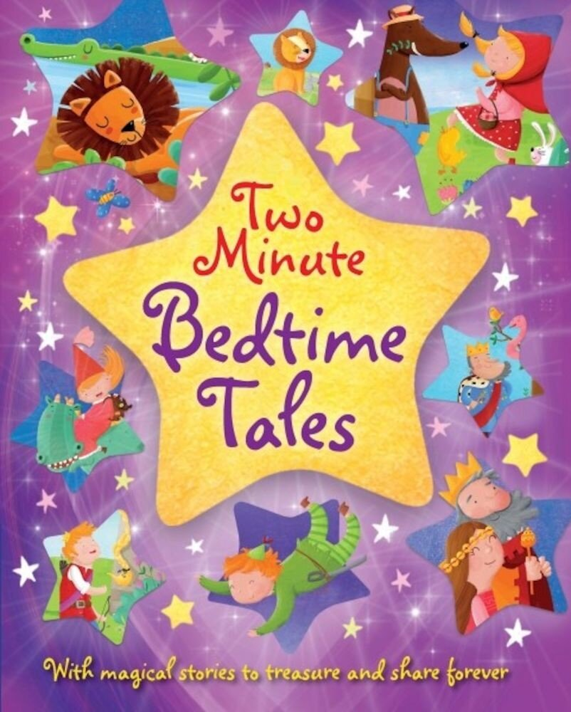 Coperta Carte Two Minute Bedtime Tales
