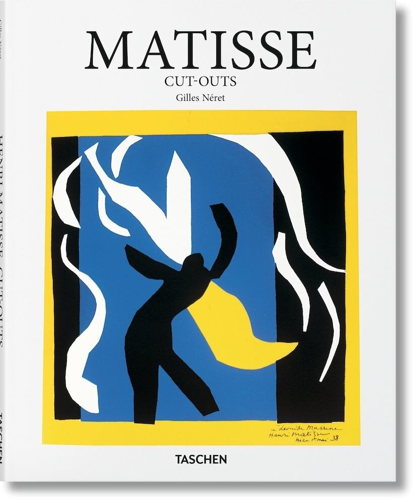 Coperta Carte Matisse Cut-outs