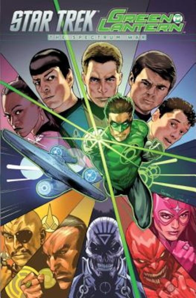 Star Trek/Green Lantern, Vol. 1: The Spectrum War, Paperback