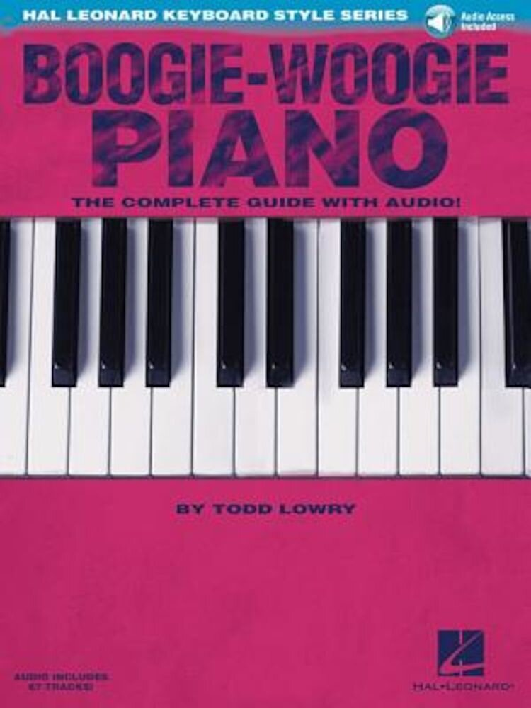 Boogie-Woogie Piano: Hal Leonard Keyboard Style Series, Hardcover