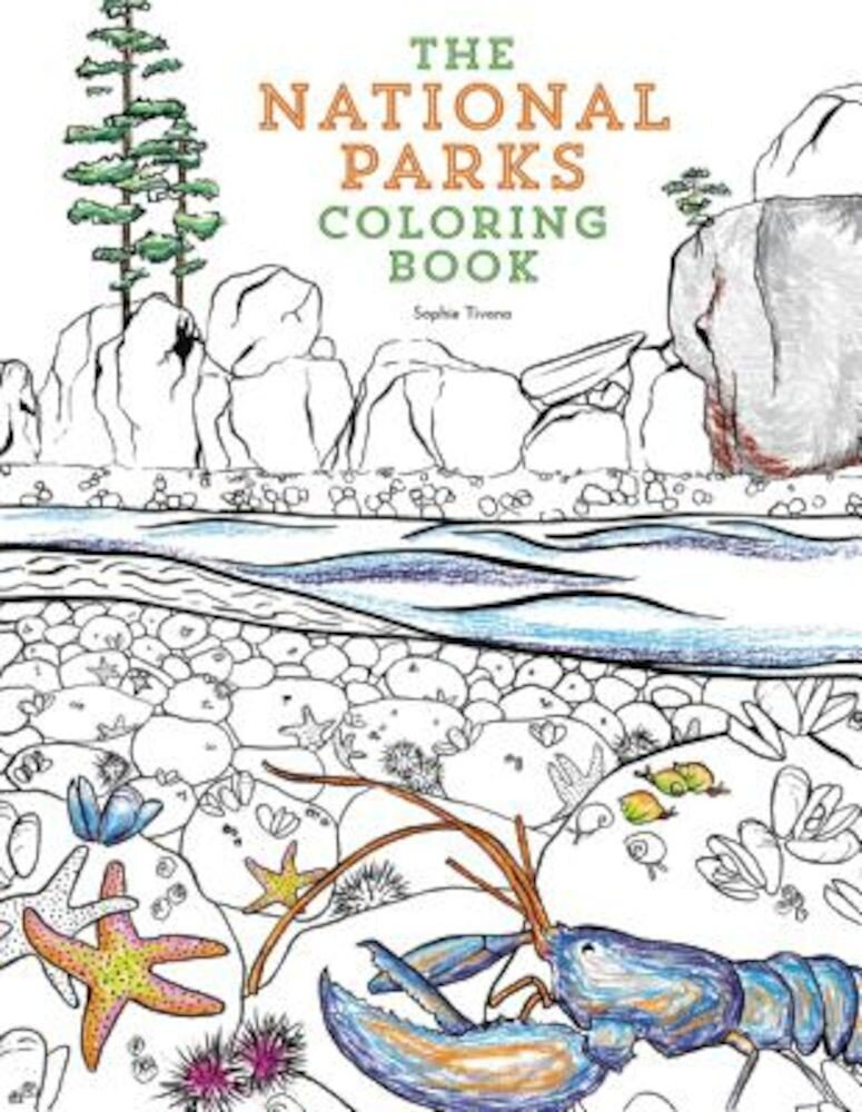 The National Parks Coloring Book, Paperback