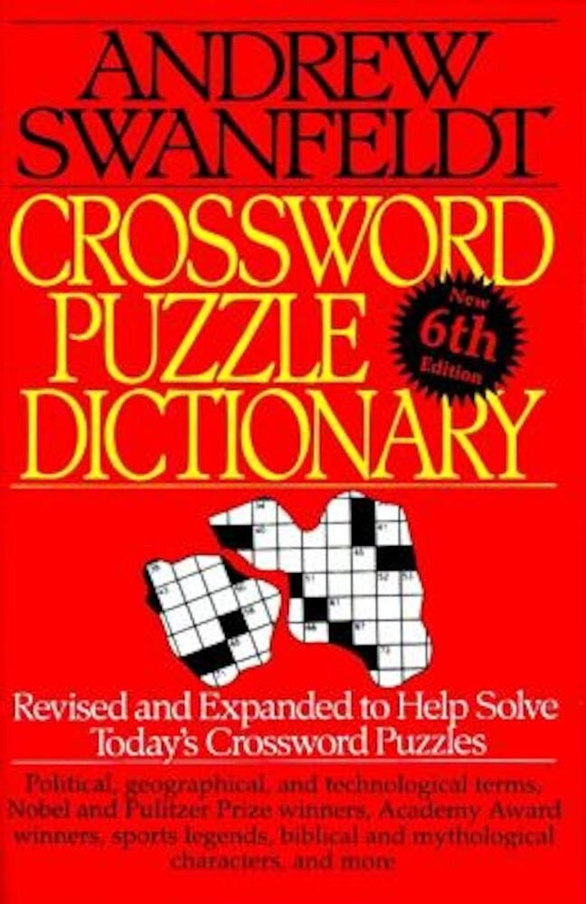 Crossword Puzzle Dictionary: Sixth Edition, Paperback