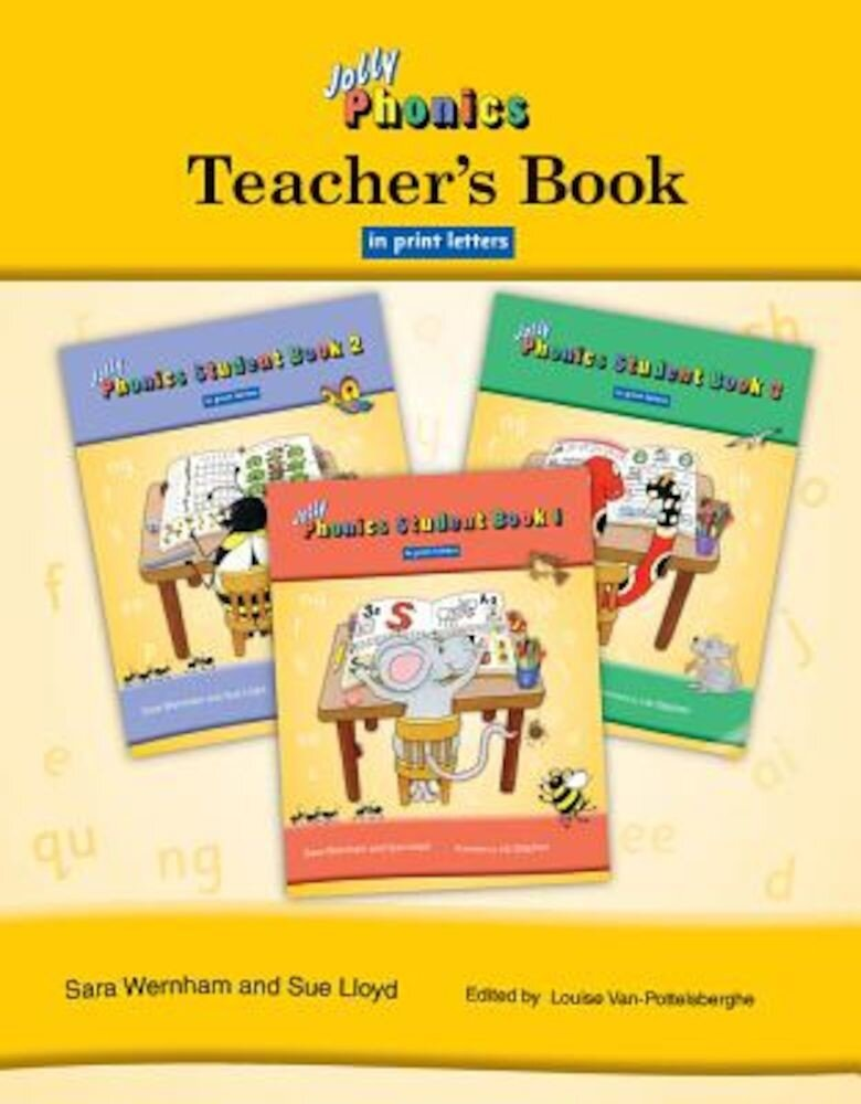 Jolly Phonics Teacher's Book in Print Letters, Paperback