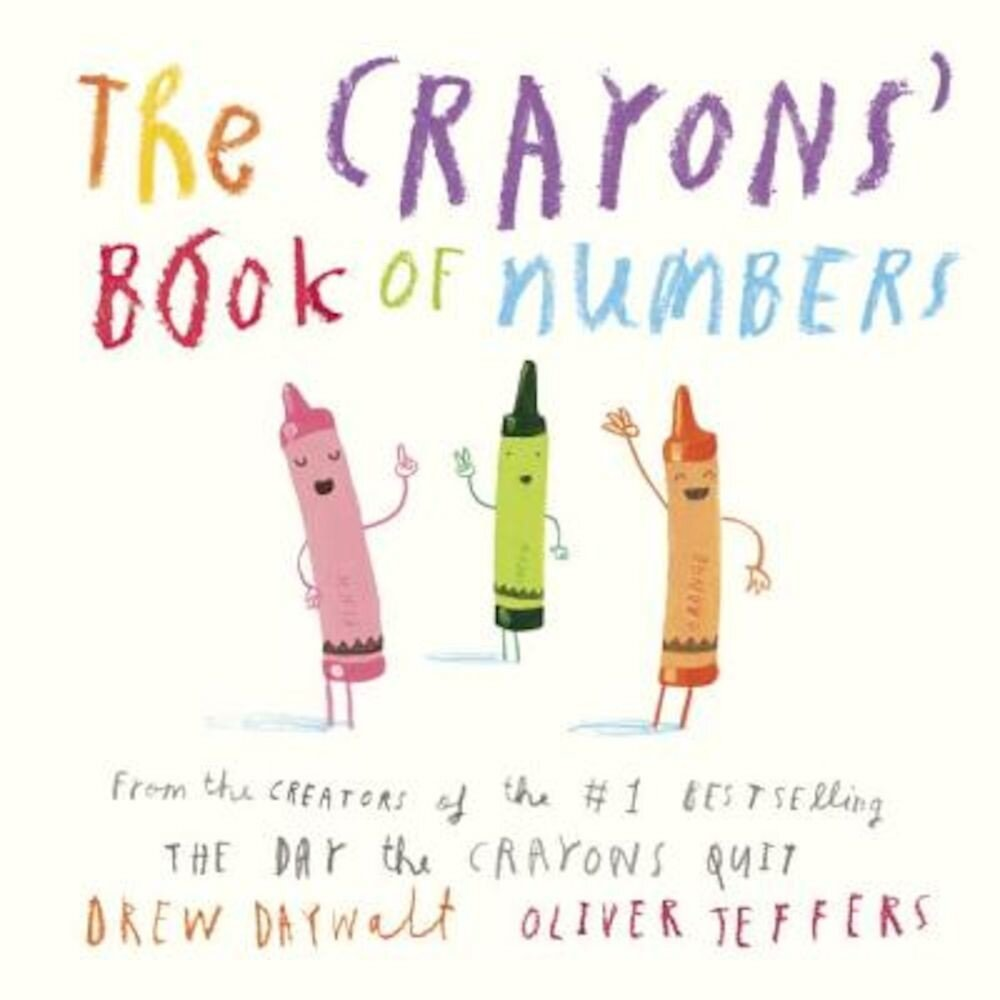 The Crayons' Book of Numbers, Hardcover
