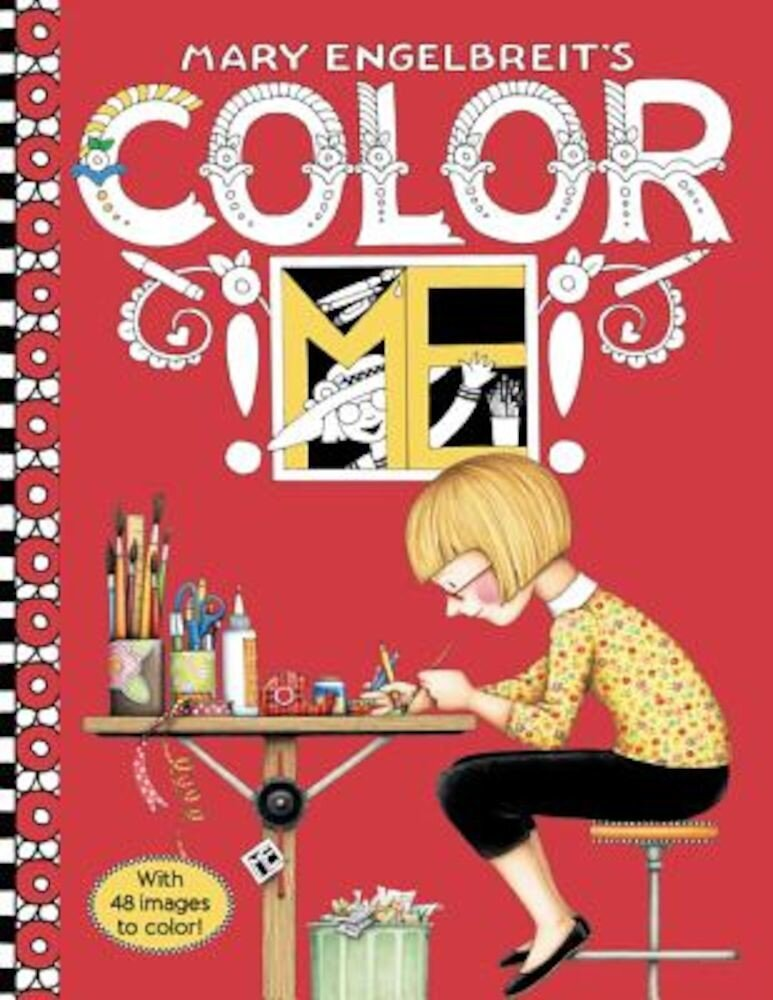 Mary Engelbreit's Color Me Coloring Book, Paperback