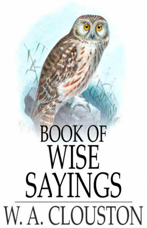 Book of Wise Sayings (eBook)