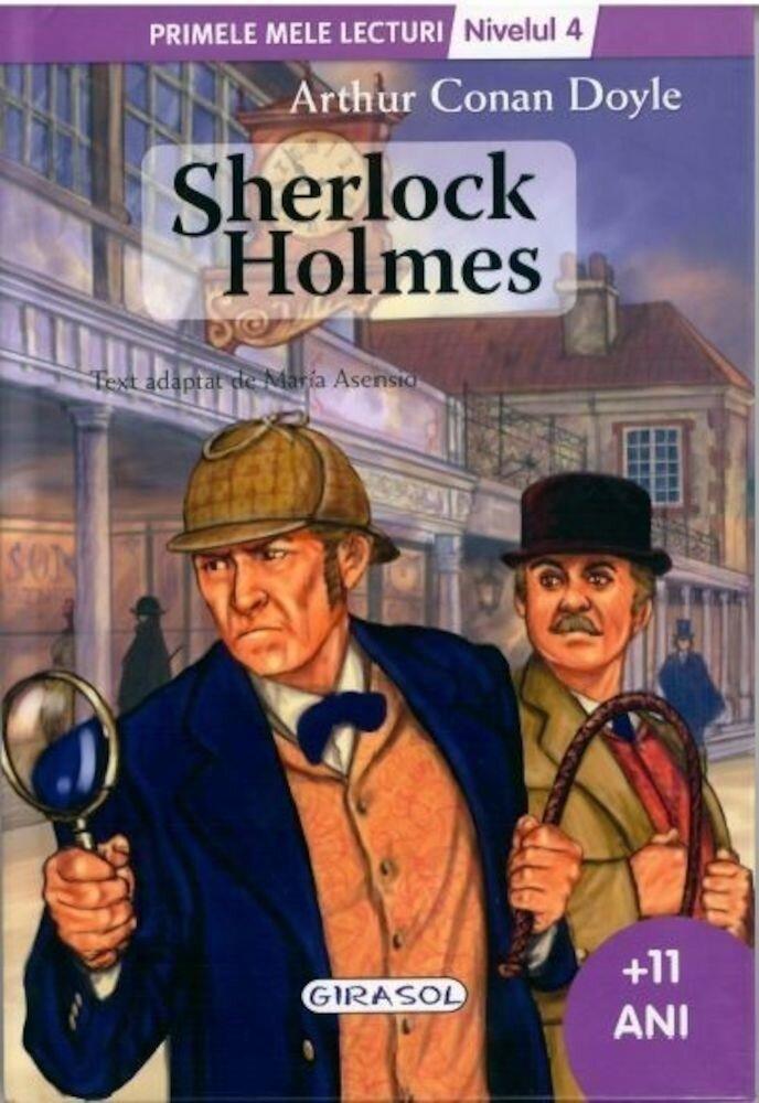Coperta Carte Sherlock Holmes - Nivelul 4