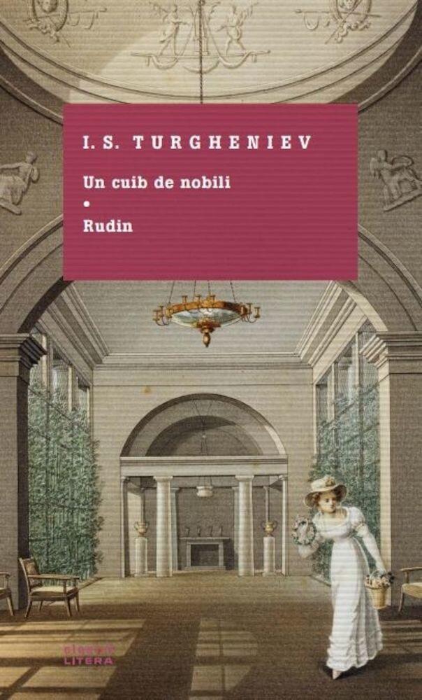 Coperta Carte Un cuib de nobilli. Rudin