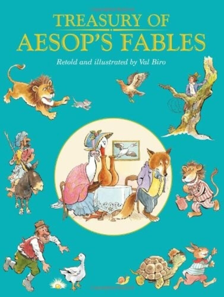 Coperta Carte Treasury of Aesops Fables