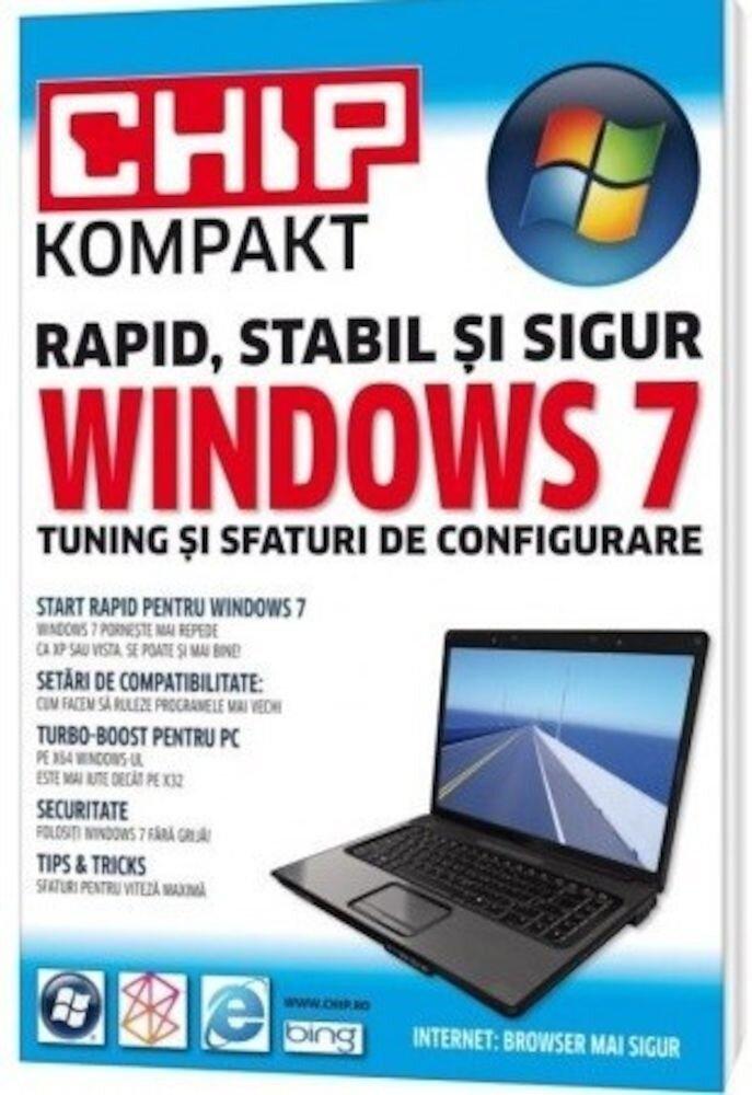 Coperta Carte Windows 7. Tuning si sfaturi de configurare - cu mici defecte