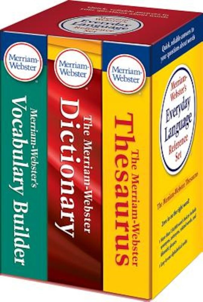 Merriam-Webster's Everyday Language Reference Set, Paperback