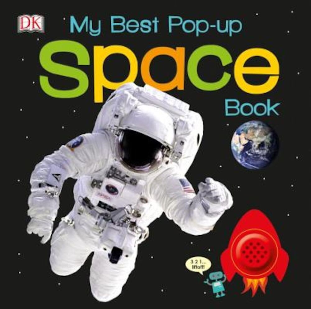 My Best Pop-Up Space Book, Hardcover