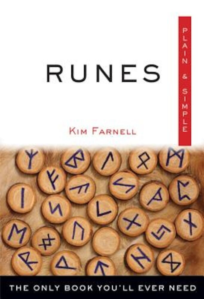 Runes, Plain & Simple: The Only Book You'll Ever Need, Paperback