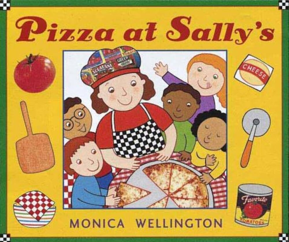 Pizza at Sally's, Hardcover