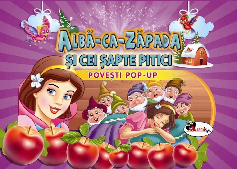 Coperta Carte Povesti pop-up - Alba-ca-Zapada