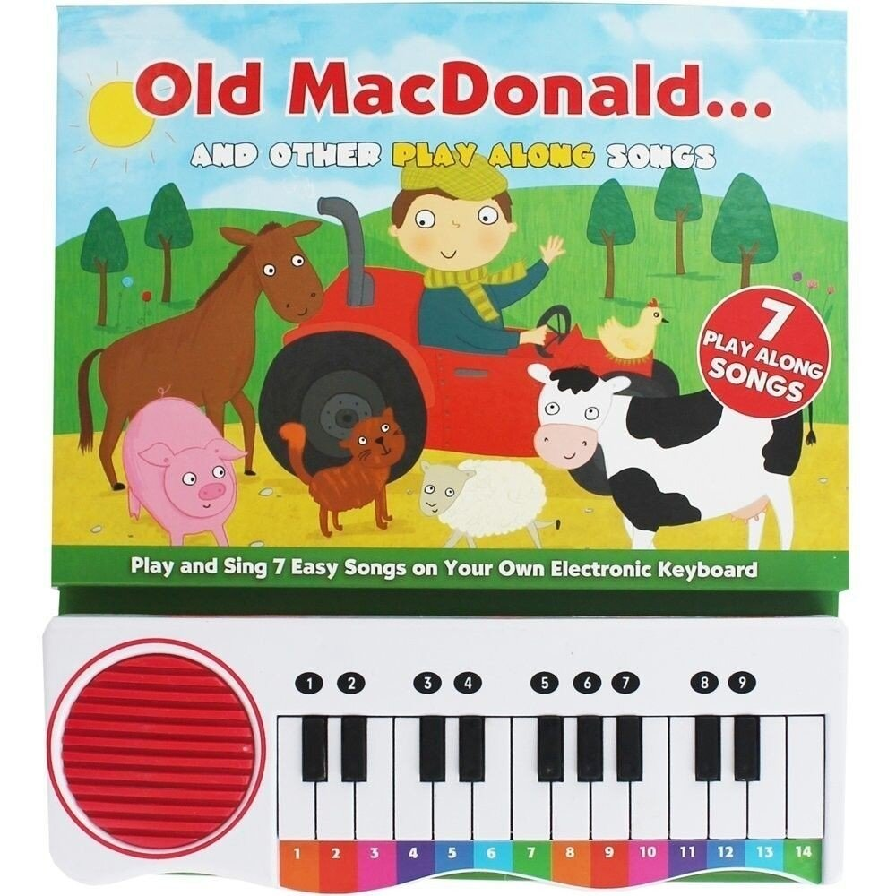 Sing Along Songs Old MacDonald : Novelty Activity Book