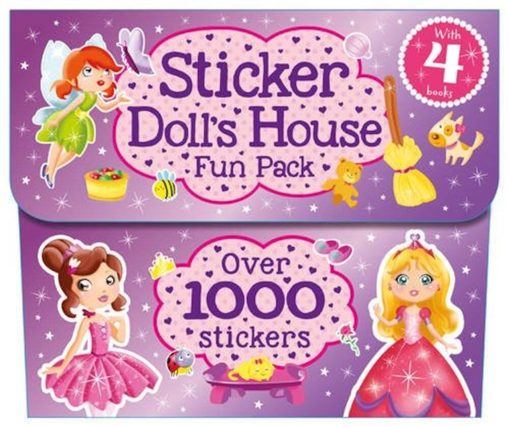 My Pretty Sticker Dollhouse Pack