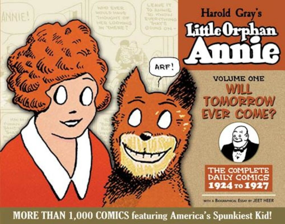 Complete Little Orphan Annie Volume 1, Hardcover
